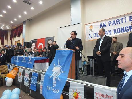 AK Parti Bismil İlçe Kongresi Yapıldı 10