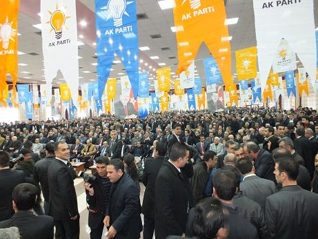 AK Parti Bismil İlçe Kongresi Yapıldı 2