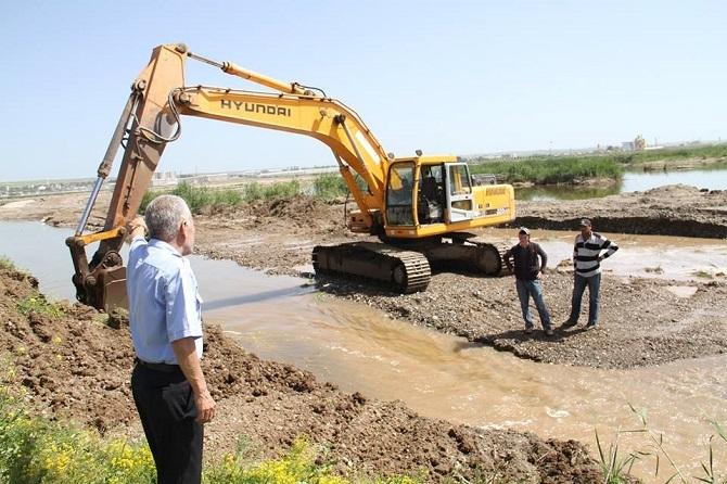 Bismil Belediyesi iki kum ocağını mühürledi 3