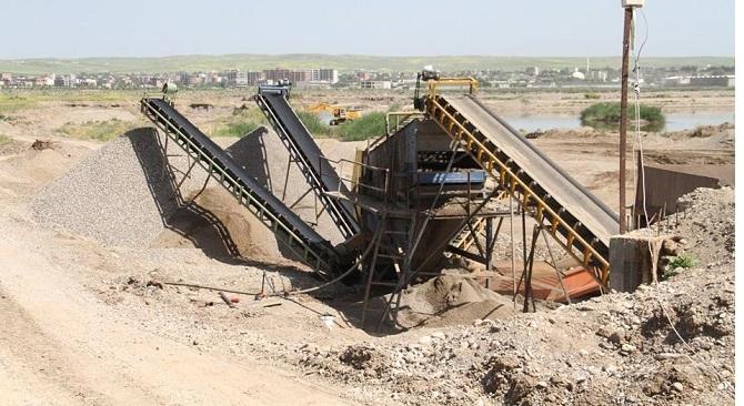 Bismil Belediyesi iki kum ocağını mühürledi 4