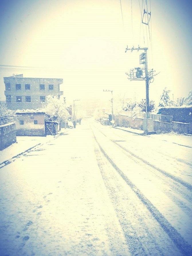 Bismil'de Kar Manzaraları 8