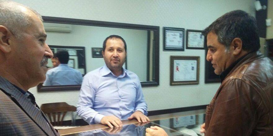 Ebedinoğlu,Bismil Esnafları Ziyaret Etti