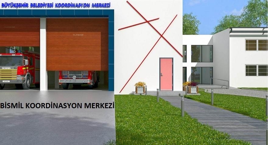 Bismil Koordinasyon Merkezi inşa ediliyor 4