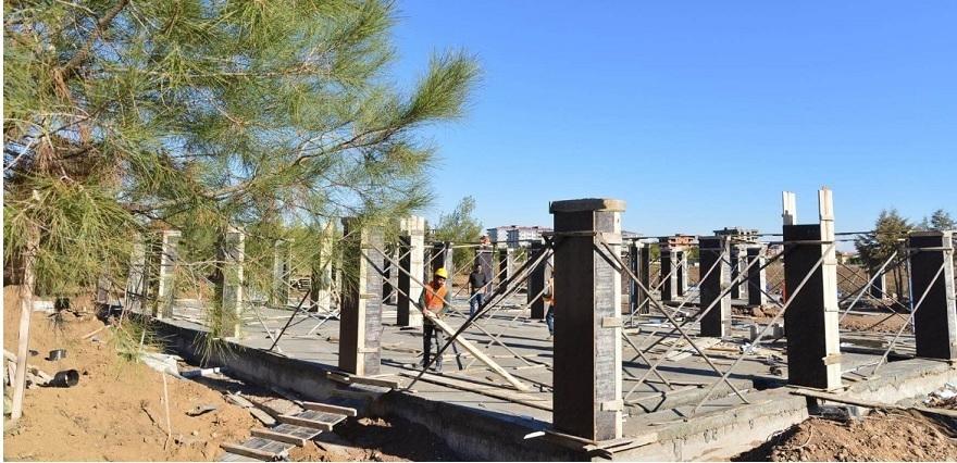 Bismil Koordinasyon Merkezi inşa ediliyor 7
