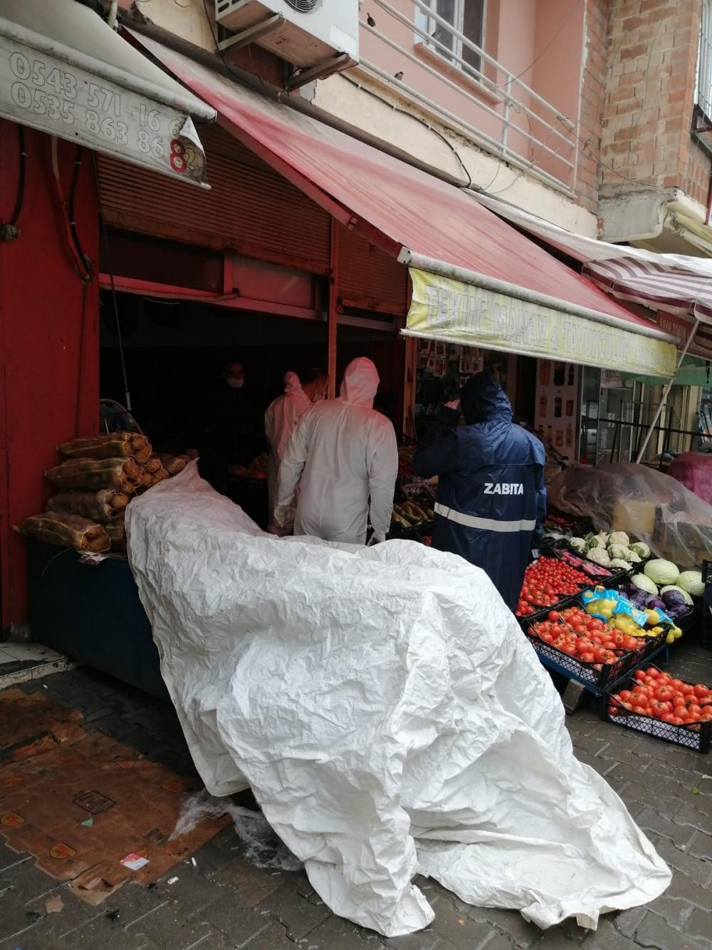 Bismil'de korona salgını nedeniyle gıda denetimleri de arttı 1