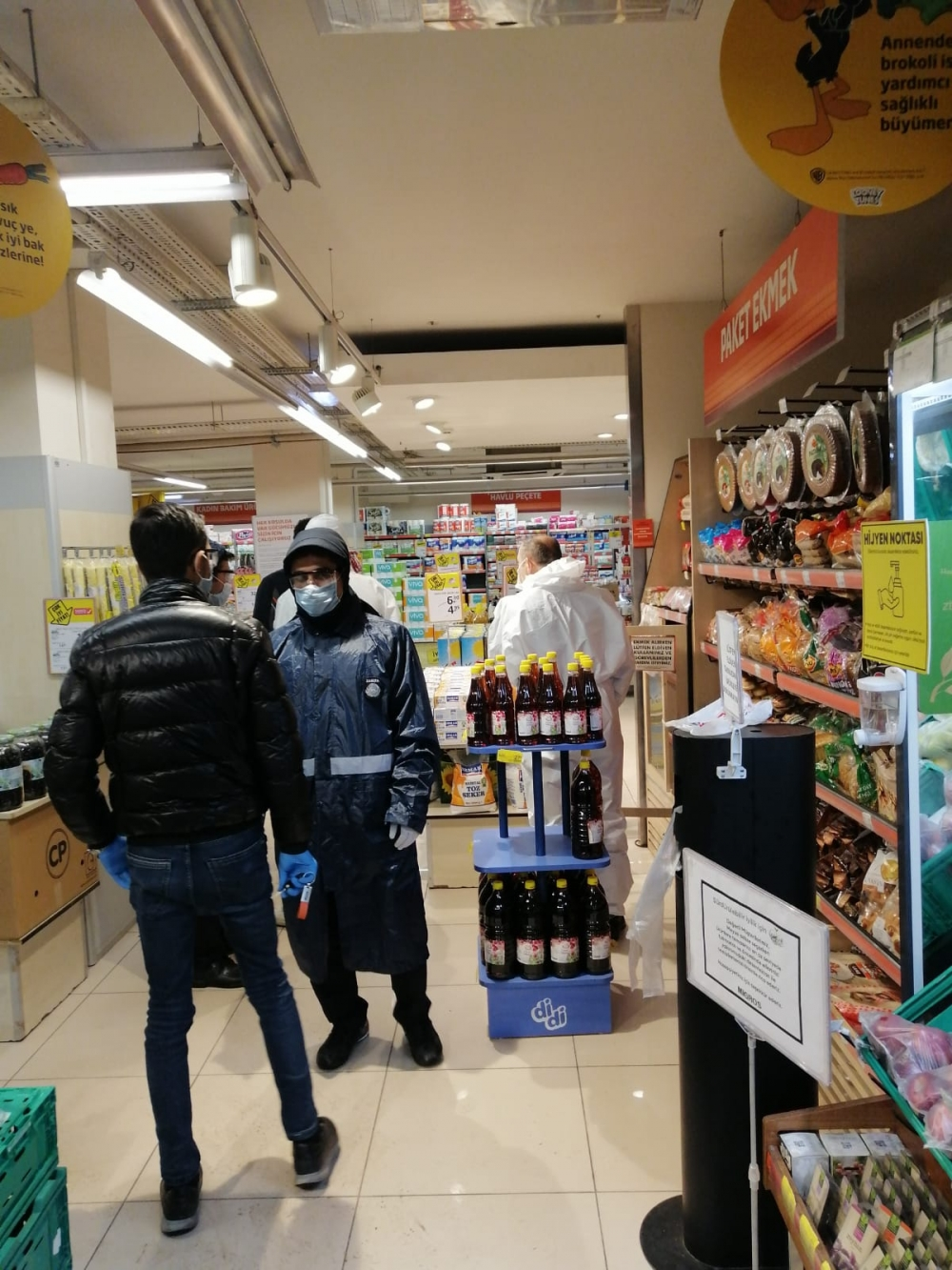 Bismil'de korona salgını nedeniyle gıda denetimleri de arttı 19