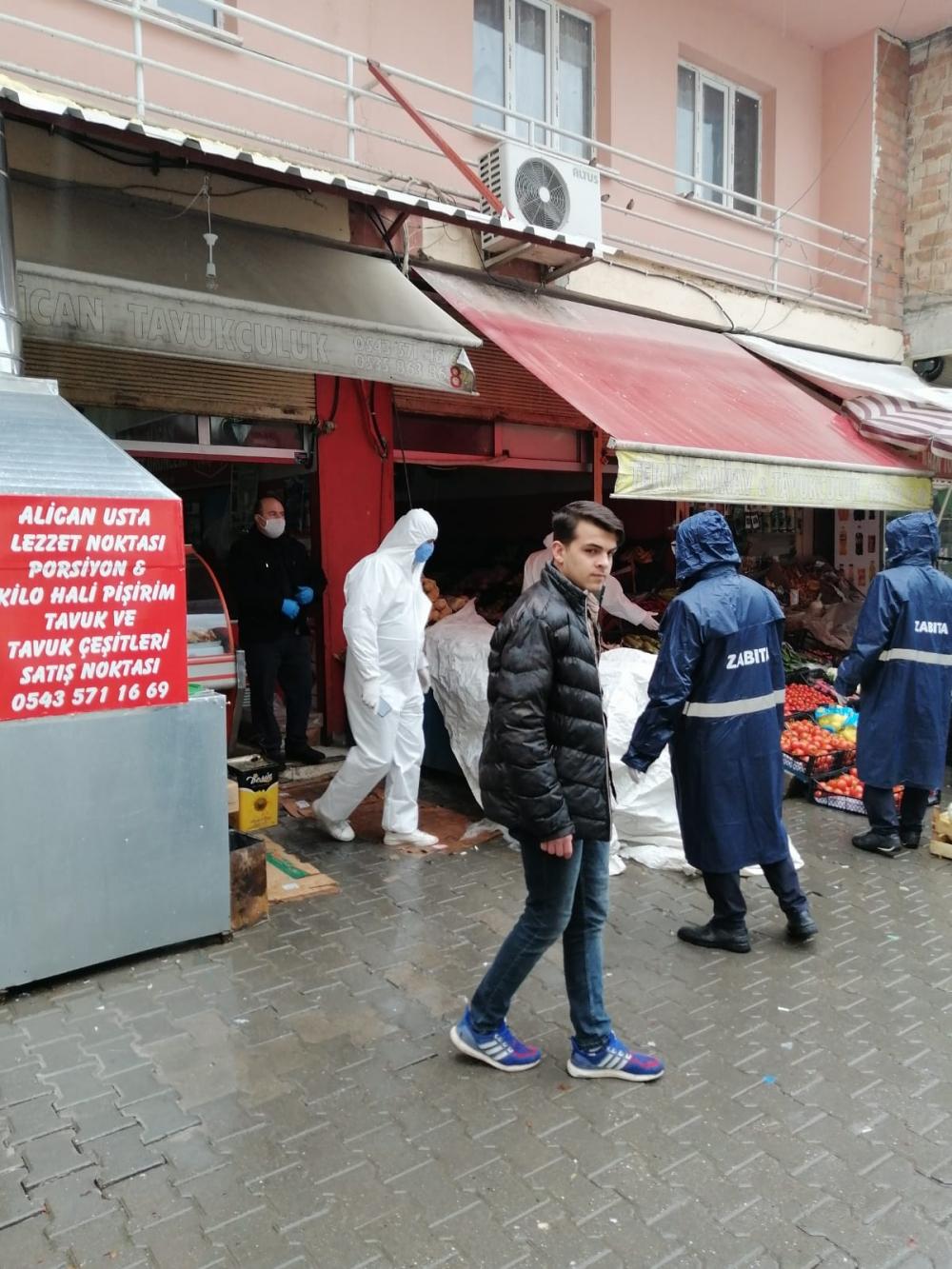 Bismil'de korona salgını nedeniyle gıda denetimleri de arttı 2
