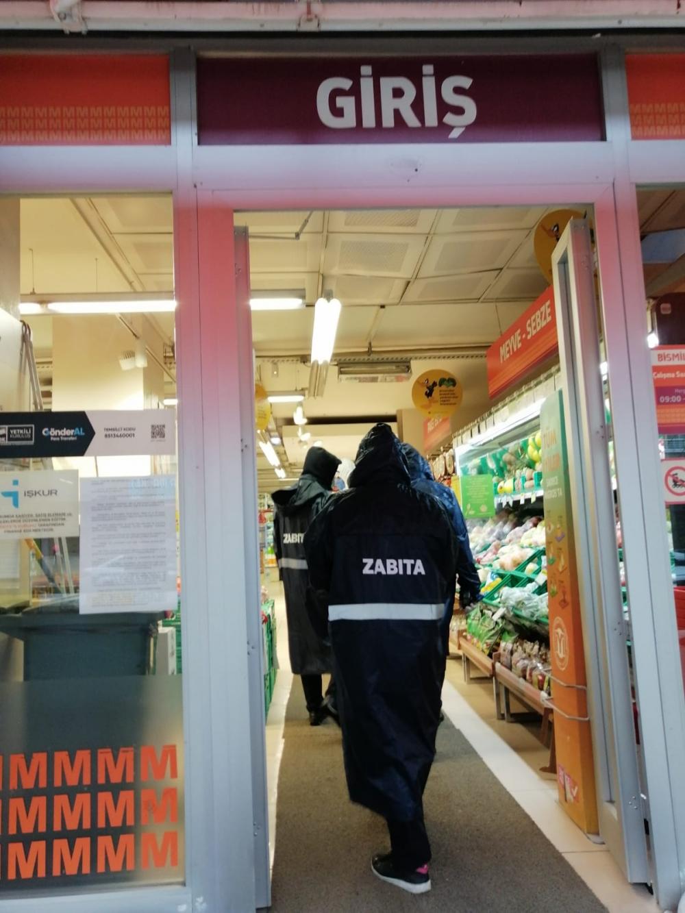 Bismil'de korona salgını nedeniyle gıda denetimleri de arttı 21