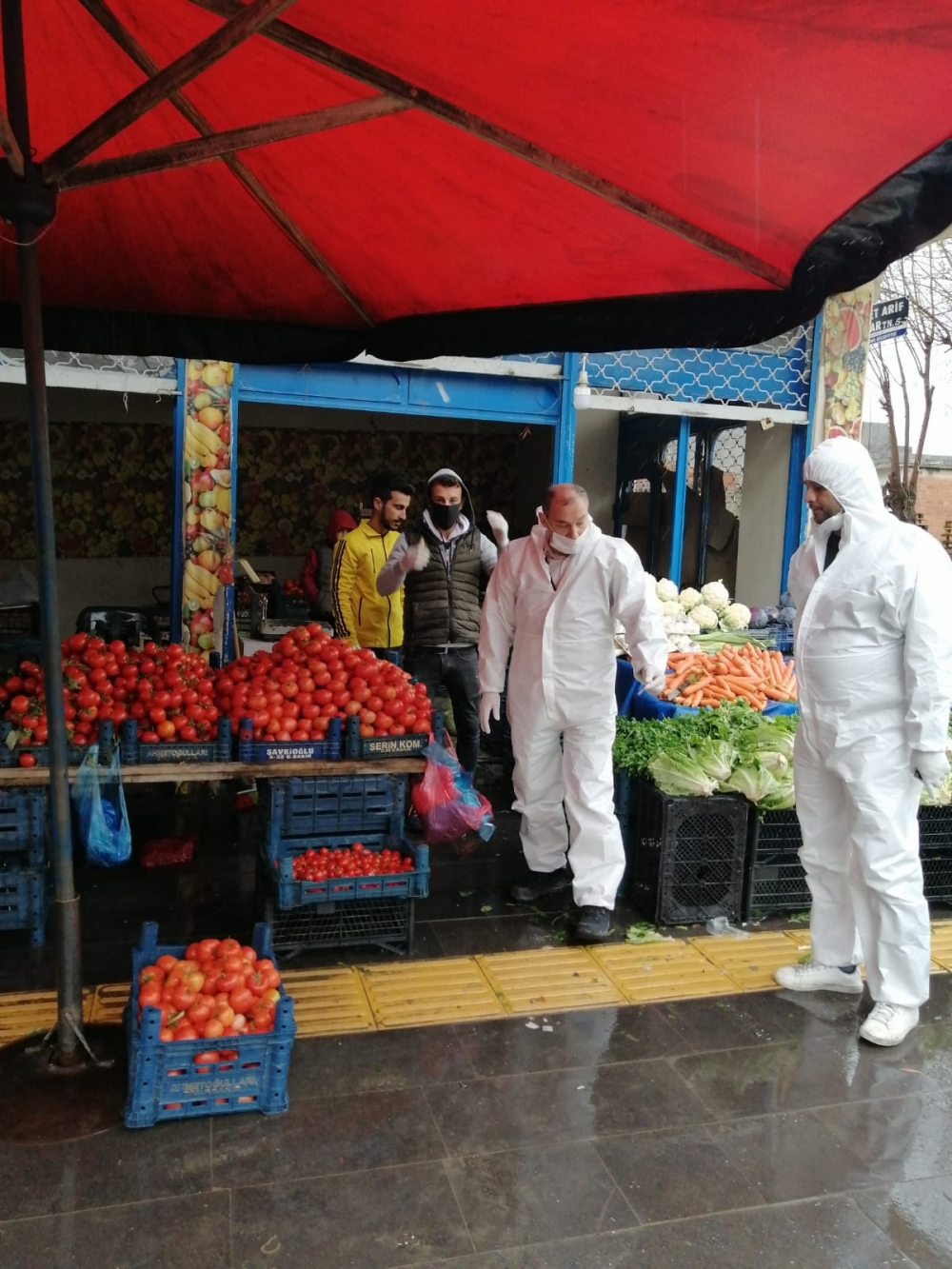 Bismil'de korona salgını nedeniyle gıda denetimleri de arttı 23