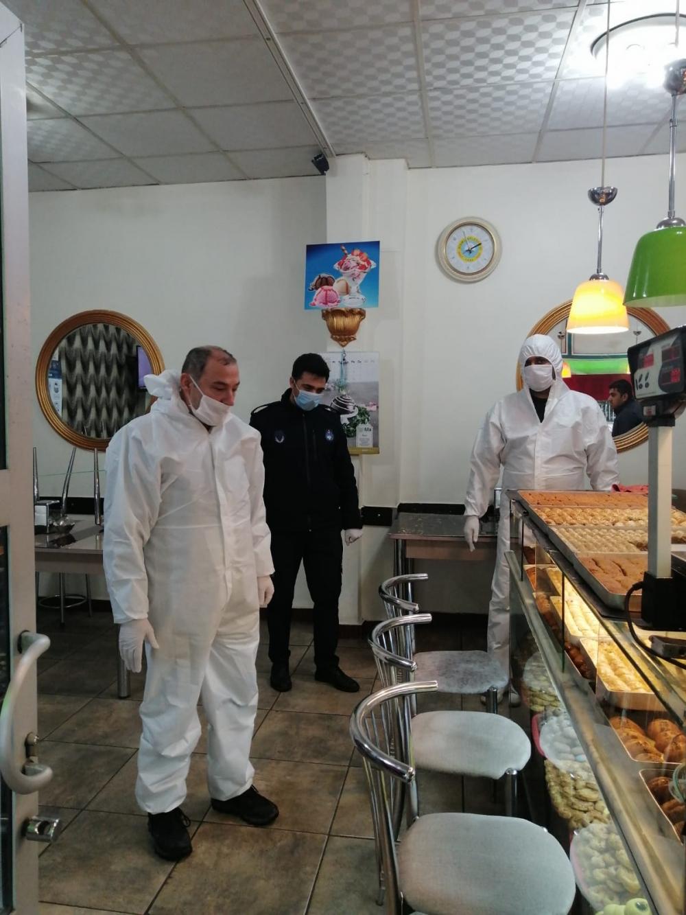 Bismil'de korona salgını nedeniyle gıda denetimleri de arttı 28