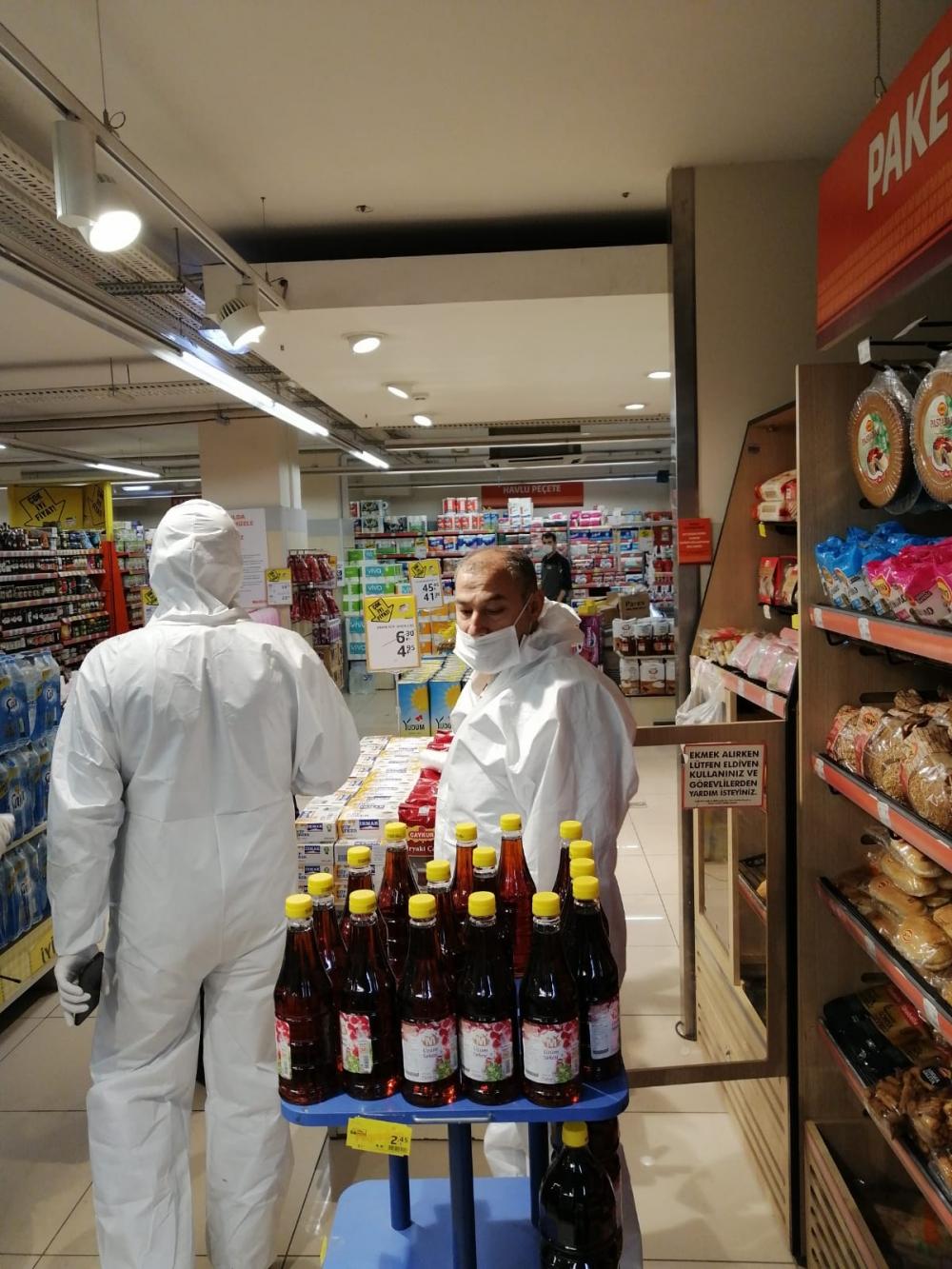 Bismil'de korona salgını nedeniyle gıda denetimleri de arttı 32