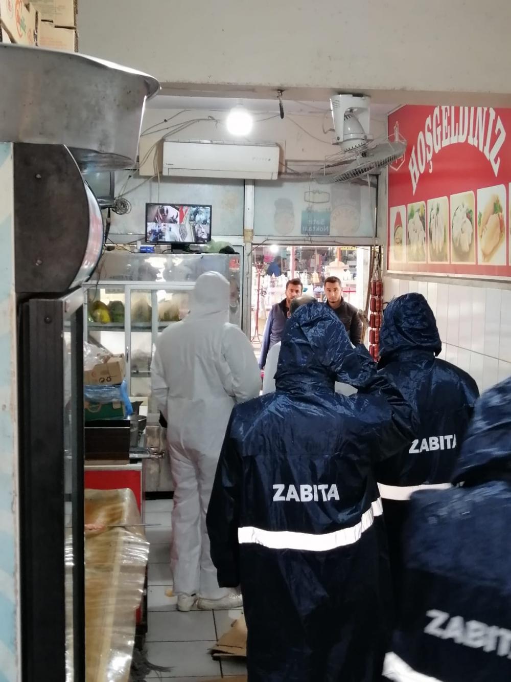 Bismil'de korona salgını nedeniyle gıda denetimleri de arttı 4