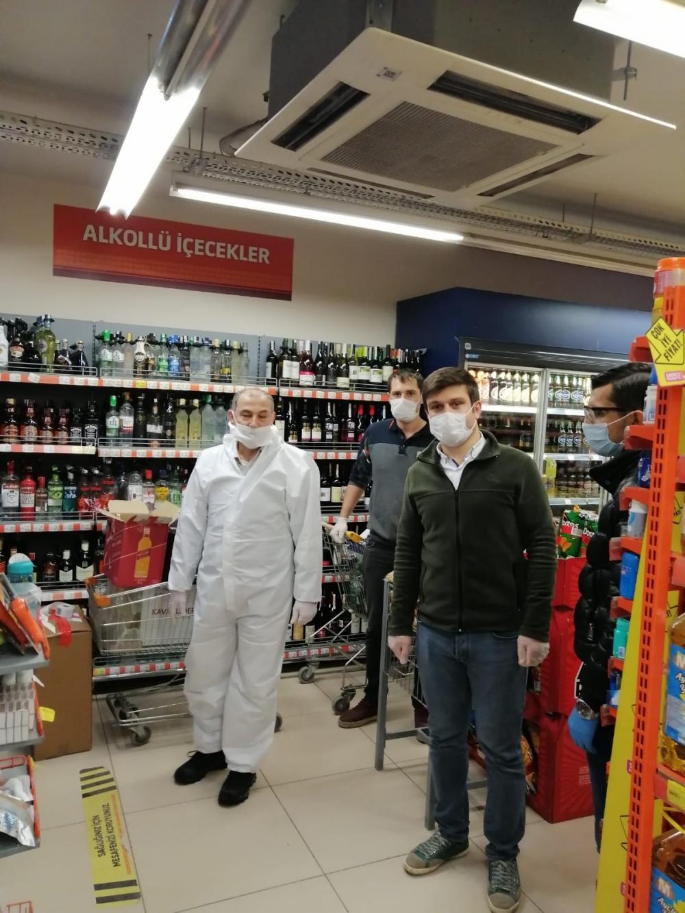 Bismil'de korona salgını nedeniyle gıda denetimleri de arttı 7