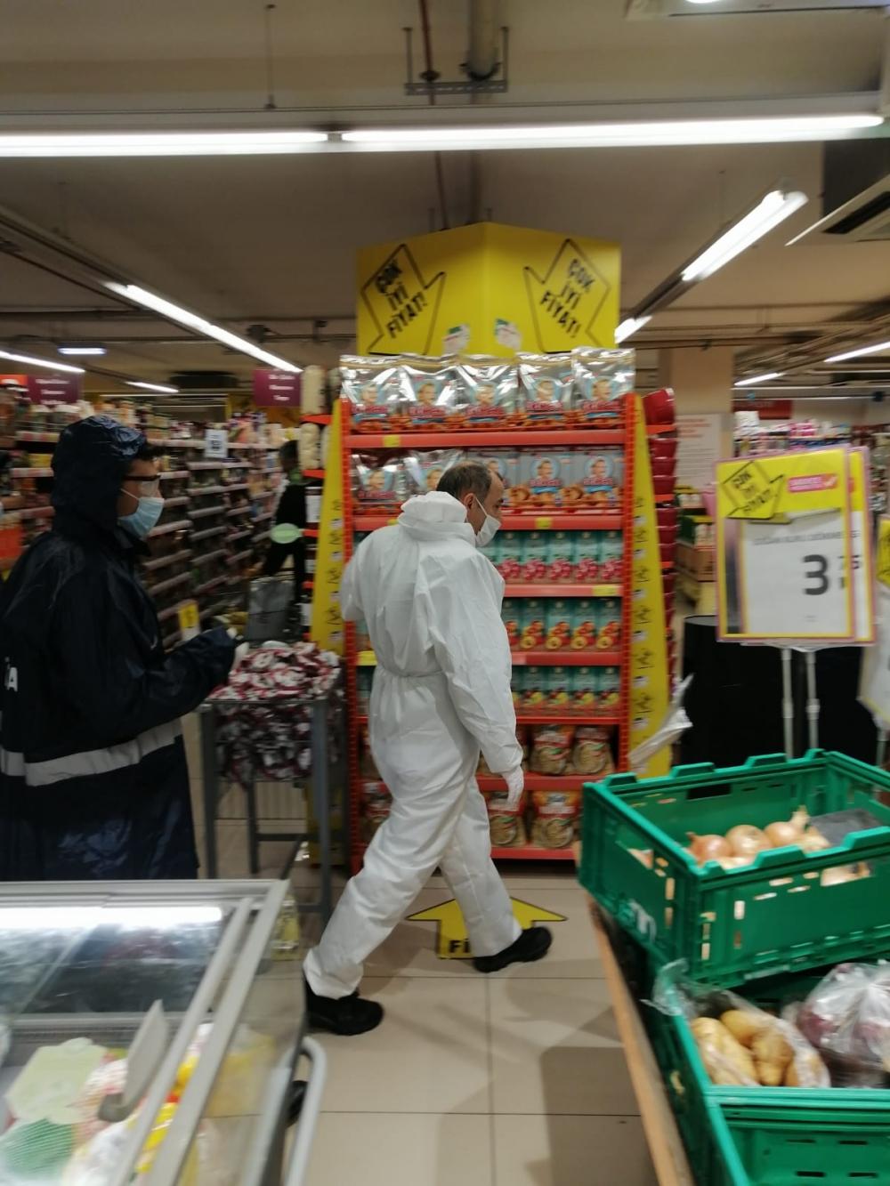 Bismil'de korona salgını nedeniyle gıda denetimleri de arttı 9