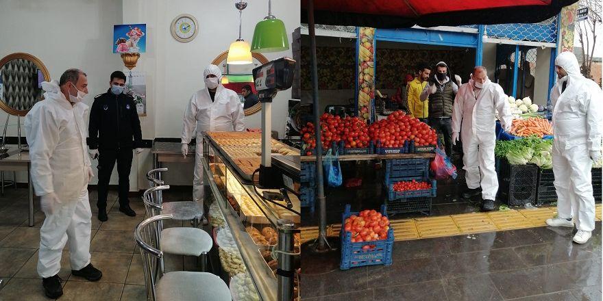 Bismil'de korona salgını nedeniyle gıda denetimleri de arttı