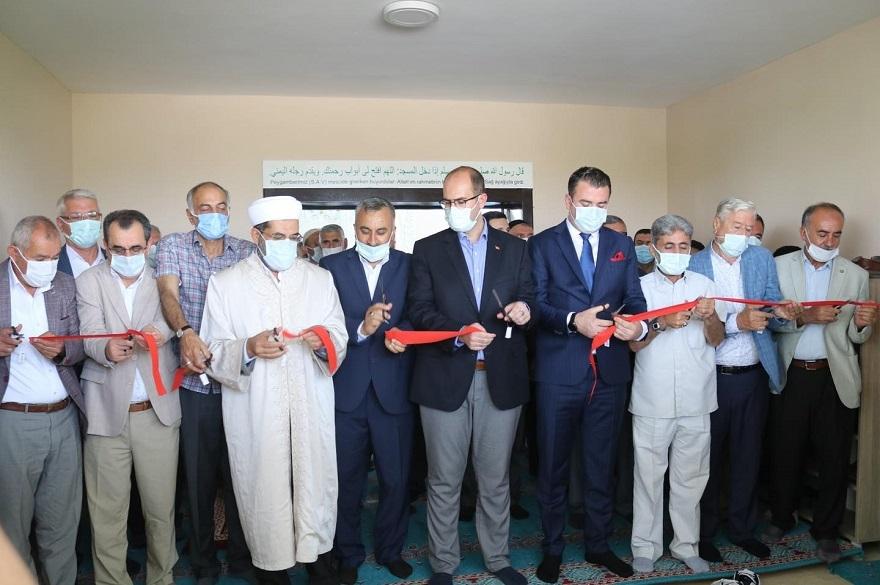 Kaymakam Türkmen, Tepe'de cami açılışına katıldı 4
