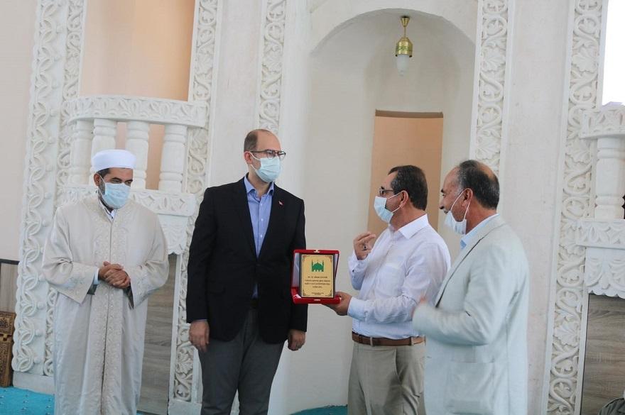 Kaymakam Türkmen, Tepe'de cami açılışına katıldı 6