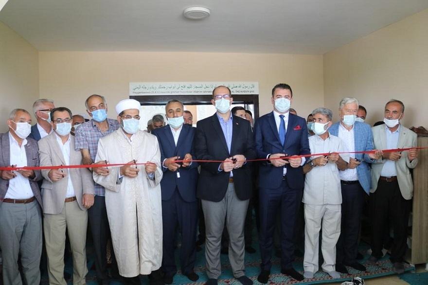 Kaymakam Türkmen, Tepe'de cami açılışına katıldı 8