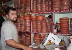 Diyarbakır'da çömlek ilgisi