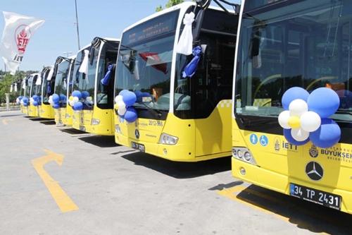Doğalgazla çalışan otobüsler sefere başladı