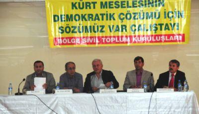 Stk'lar Diyarbakır'da Çözüm İçin Toplandı