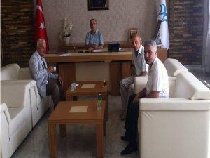 Gazetecilerden Bismil Kaymakamı Bakır'ı Ziyaret