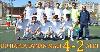 Bismil Belediye Spor rakibi 1903 Kartal Sporu 4-2