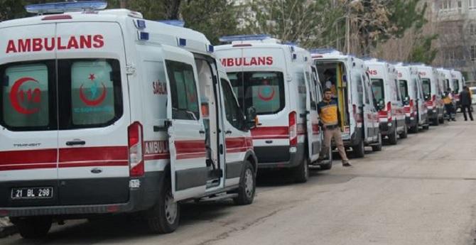 Zırhlı ambulans hizmete girdi