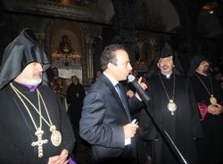 Ermeni Kilisesi İbadete Açıldı