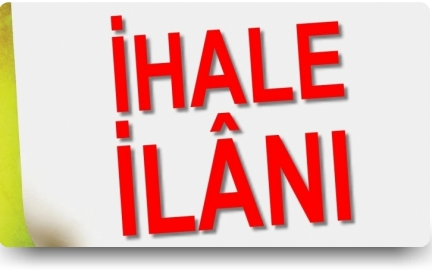 İHALE İLANI BİSMİL BELEDİYESİ FEN MÜDÜRLÜĞÜ