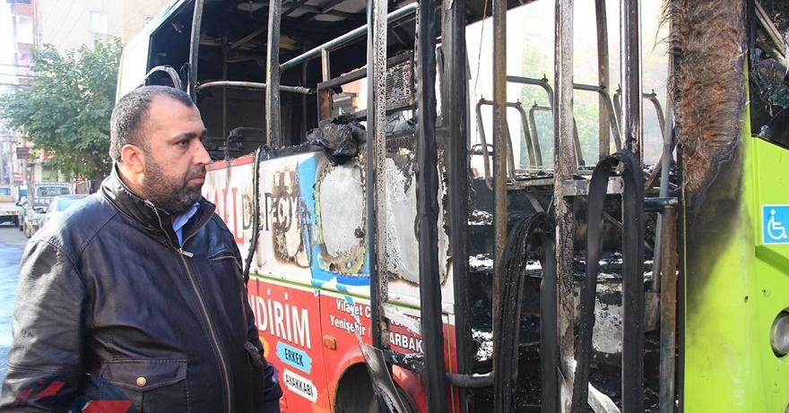 Diyarbakır'da özel halk otobüslerini kimler kundaklıyor?