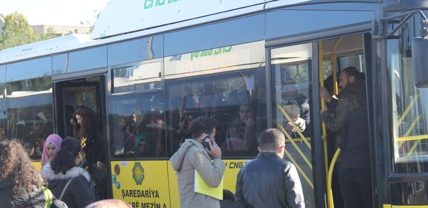 Diyarbakır halkı kadınlara yönelik otobüs istiyor