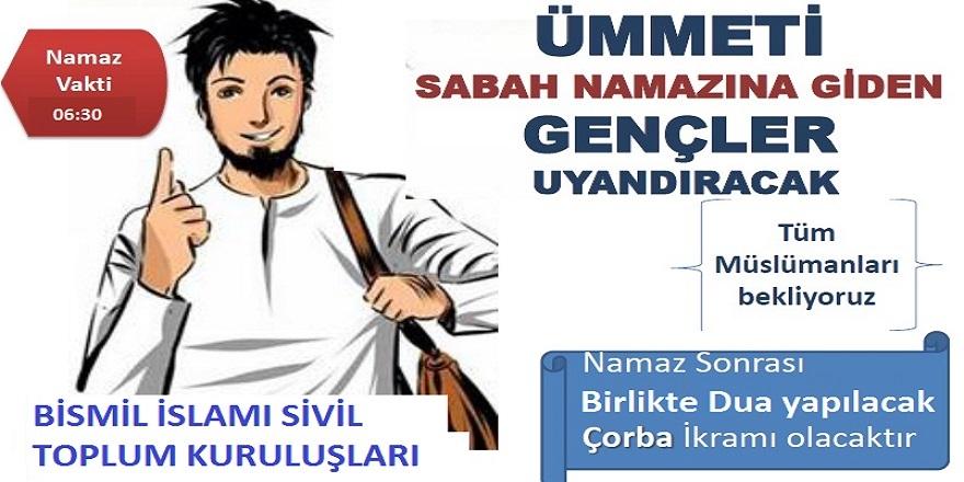 'Bismil'de Sabah namazı buluşmaları' sürüyor