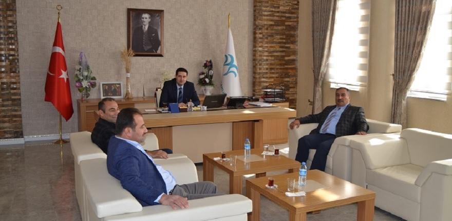 Aksu Belediye Başkan'dan Kaymakamımıza Ziyaret