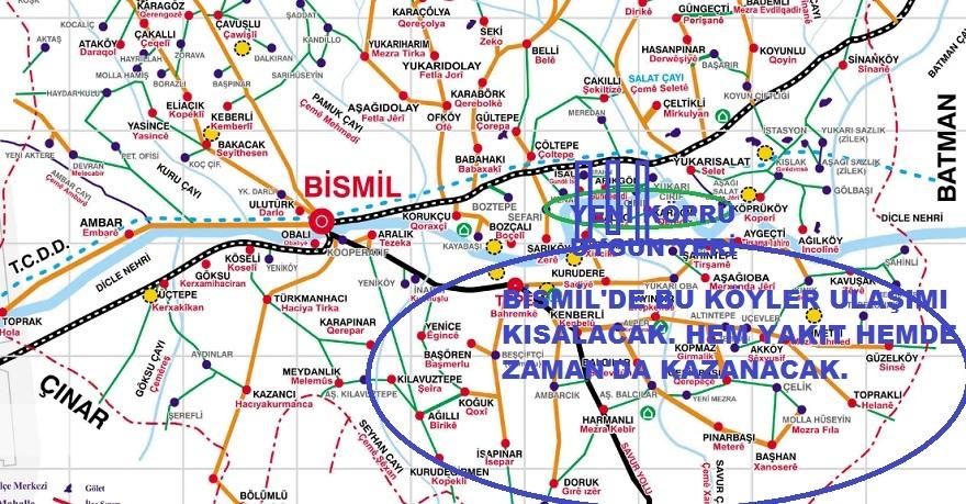 Bismil'in Barava Tarafı Köylüleri ikinci köprü istiyor