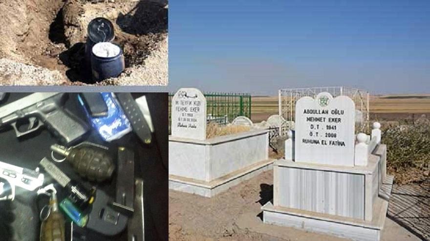 Mehdi Eker'in Aile mezarlığına bomba yerleştirilen PKK'lı yakalandı