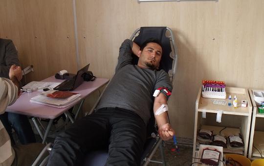 Bismil'de Kan Bağışı