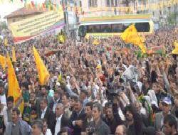 Cenazelerin alımına BDP'liler eşlik etti