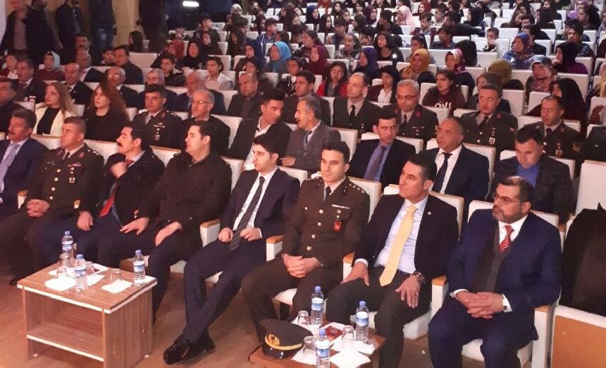 Bismil'de Çanakkale zaferi anma töreni düzenlendi