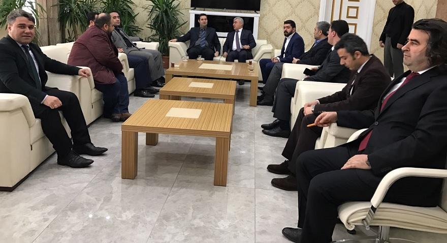 İl Milli Eğitim Müdürü Hasan Aslan'dan Kaymakam Gülenç'e Ziyaret