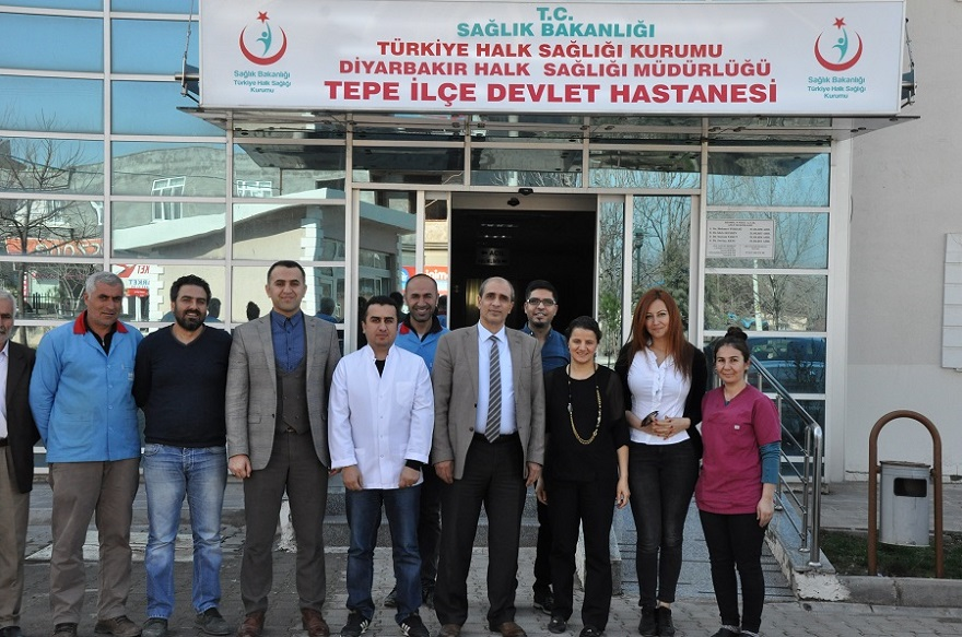 PEMBE PRENSES KANSER TARAMA ARACI BİSMİL' E GELDİ