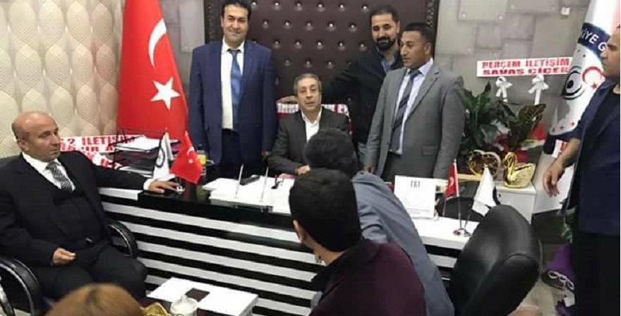 Mehdi Eker TGT Bismil İlçe Bşk. Ziyaret Etti