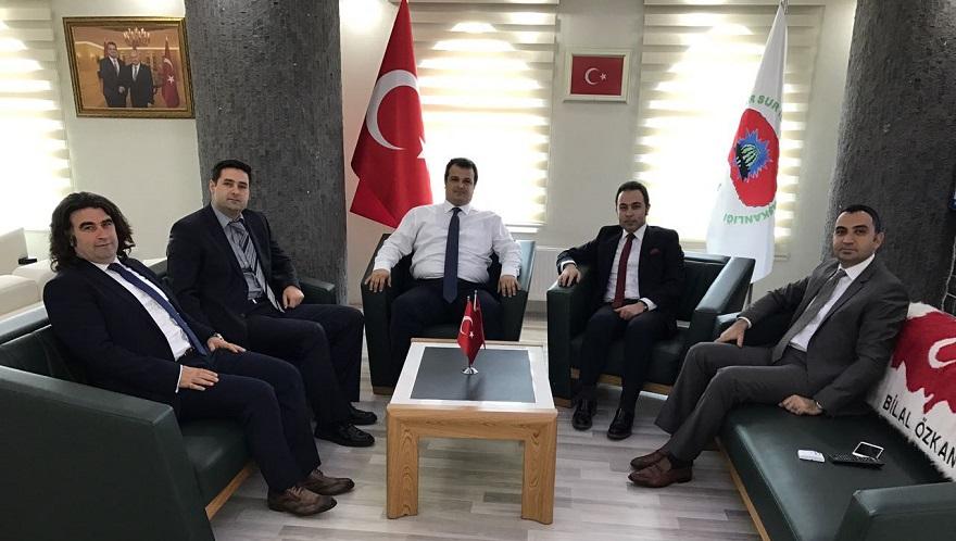 Başkan Gülenç Şehit Cenazesine Katıldı