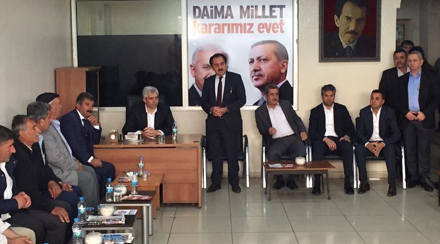 Milletvekili Ensarioğlu Bismil Ziyareti
