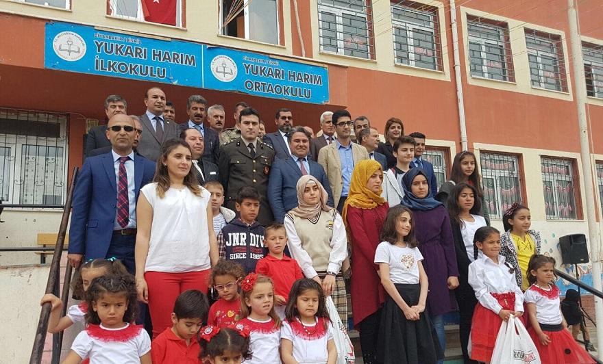 Bismil'de 23 Nisan Çocuk Bayramı Coşkuyla Kutlandı