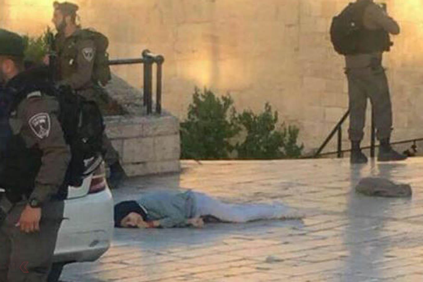 Siyonist polisler Filistinli kızı katletti
