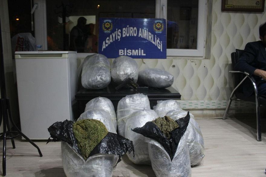 Bismil'de uyuşturucu operasyonu