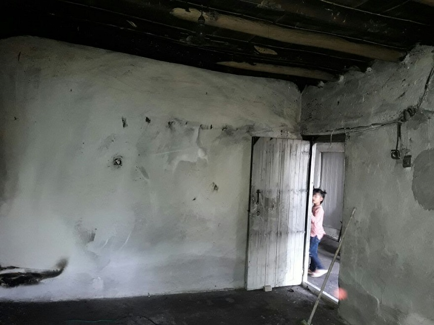 Bismil'de Evde Çakmakla Oynayan Çocuk Yangın Çıkardı