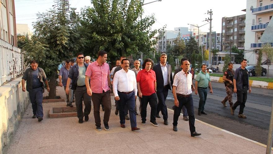 Başkan Atilla'nın Bismil Ziyareti