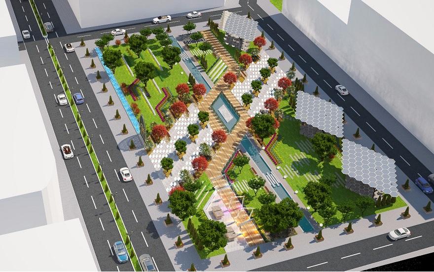 """Bismil'de Modern"""" Meydan Park"""" Çalışmalarına Başladı"""